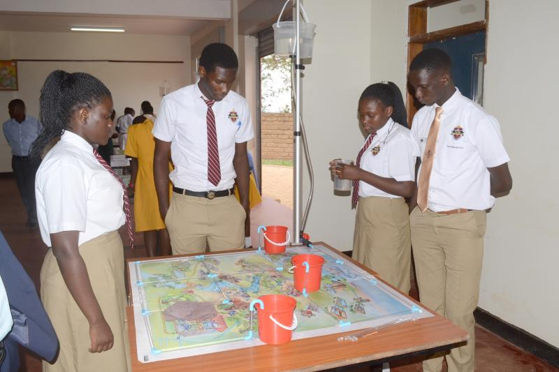 Viva College hosts inter-schools water competition