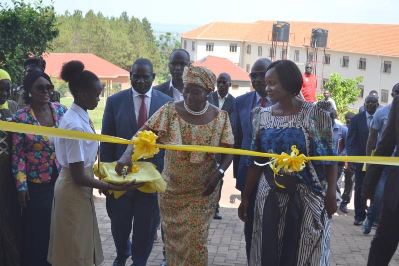 Speaker of Ugandan Parliament, Rebecca Kadaga visits