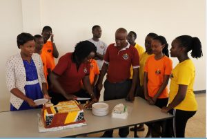 S1 AND S5 STUDENTS WELCOMED DURING WOMEN'S DAY