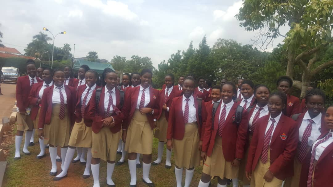 Viva College School Students attend the Education and Mentor-ship Program at Kololo