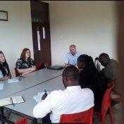 Finham Park School Principal and team visit Viva College School.